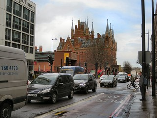 St Pancras Station & the British Library   by Alan Stanton