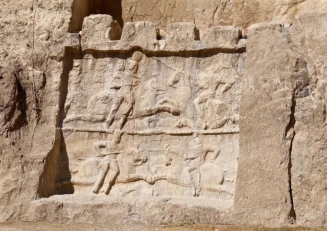 Relief, Naqsh-e Rostam, Marvdasht, Fars Province, Iran