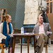 Lucianne McEvoy & Frank McCusker in rehearsals for The Weir, Roseburn Workshops, The Lyceum