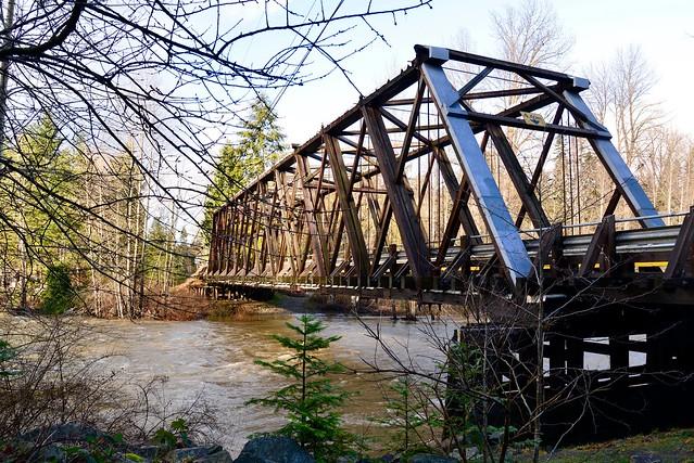 Oyster River, Howe Truss Bridge