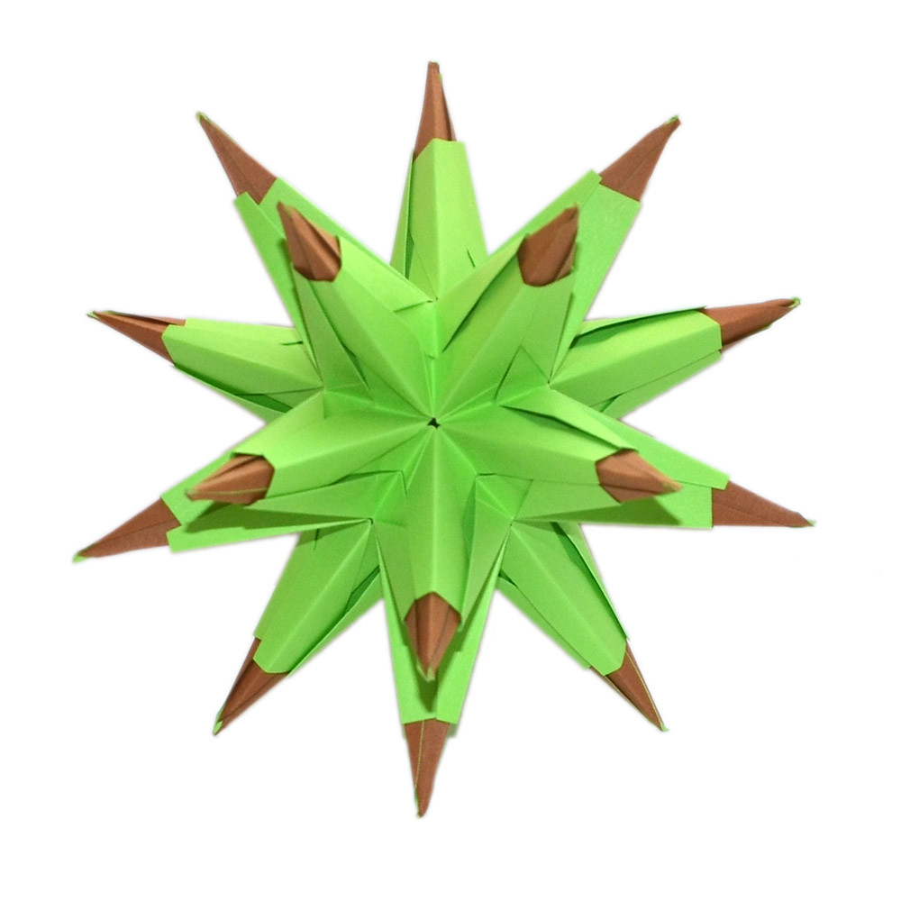 How to make a paper star - Christmas ornaments - 5 Pointed Origami ... | 1000x1000