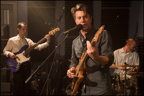 Luke Winslow-King's band at WWOZ 2016 Spring Pledge Drive. Photo by Ryan Hodgson-Rigsbee www.rhrphoto.com