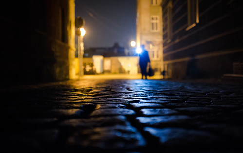 Flashlight Lady | Day 242 / 365 | by marcin baran