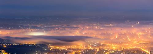 panorama sunrise widescreen taiwan 101 taipei 陽明山 七星山 大屯山 雲海 寬景 琉璃光