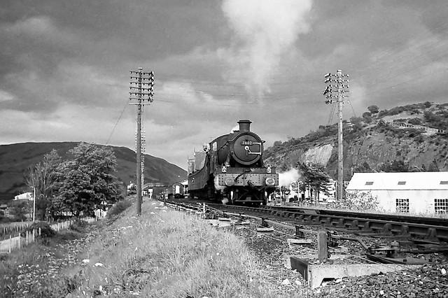7802, Machynlleth, August 1965