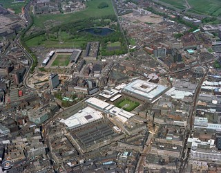 The commercial heart of Newcastle upon Tyne, 1977