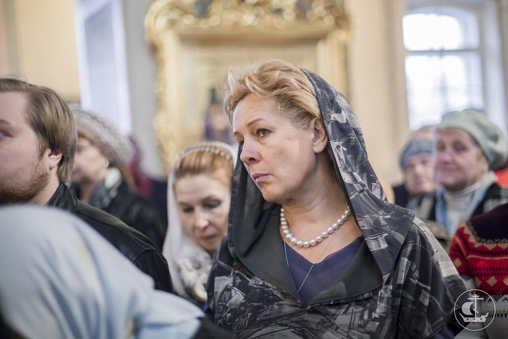 6 апреля 2016, Всенощное бдение в Благовещенской церкви на Васильевском острове / 6 April 2016, All-Night Vigil in the Church of the Annunciation on Vasilevsky Island