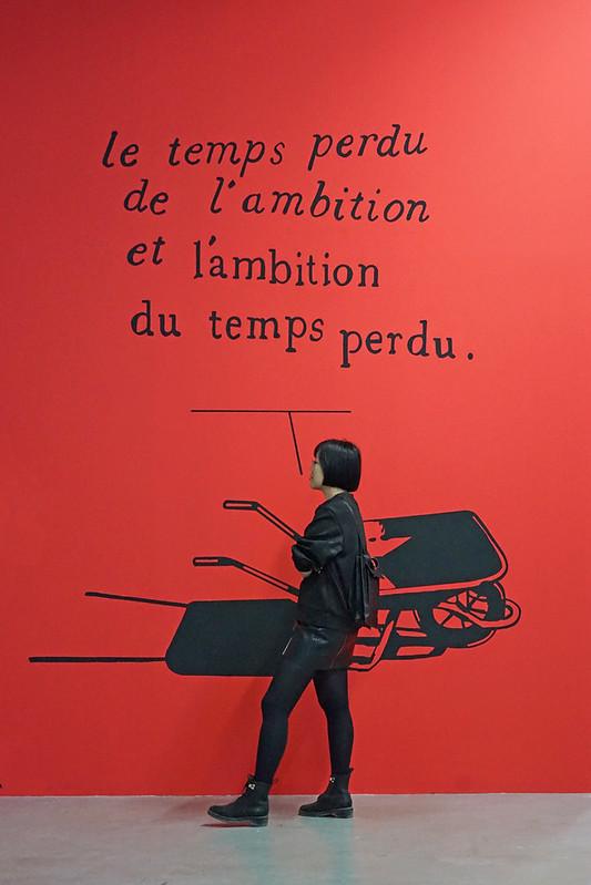 Jean-Michel Alberola au Palais de Tokyo (Paris)