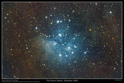 cirrus messier 45 plejades pleiades pleijaden zevengesternte seven sisters astrometrydotnet:id=nova1523844 astrometrydotnet:status=solved astro astrophotography universe space public domain