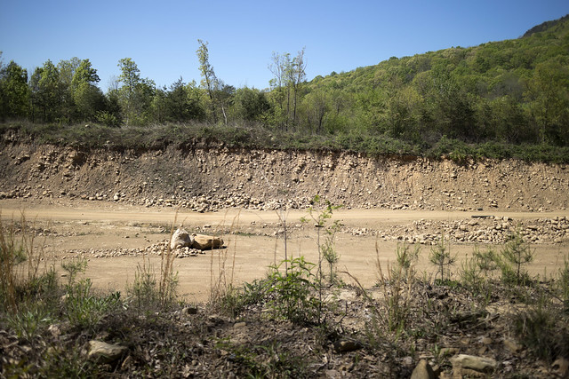 Rock quarry, Hamilton County, Tennessee