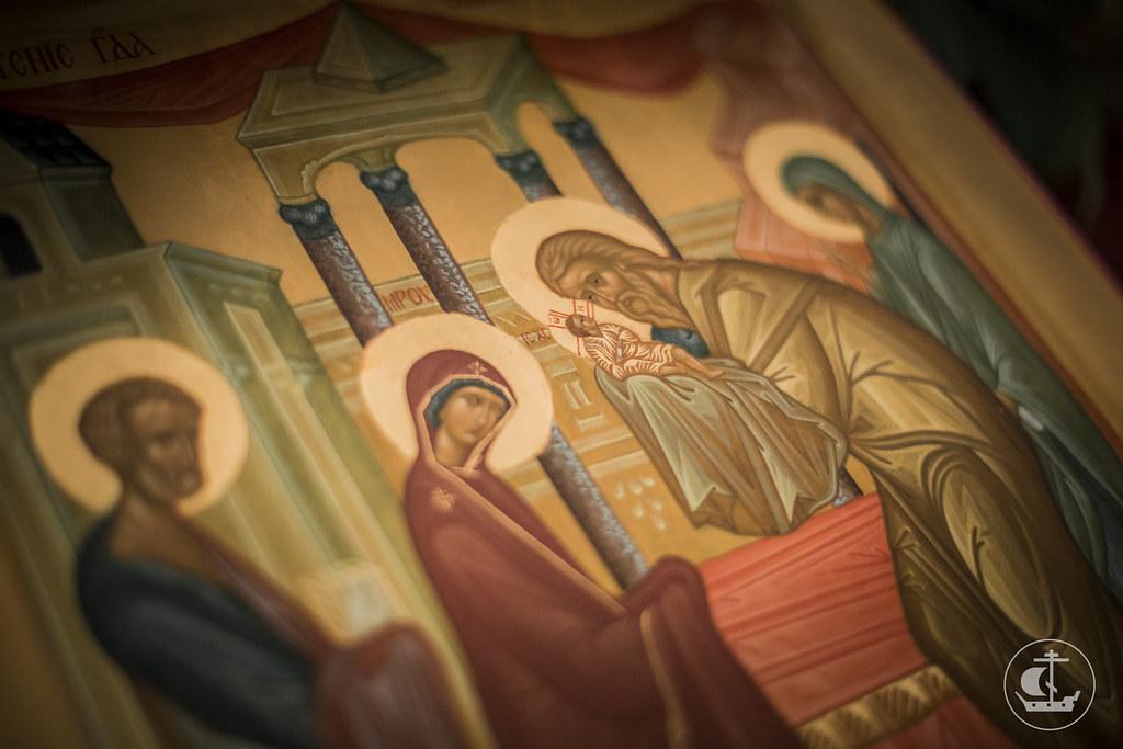 14 февраля 2016, Всенощное бдение накануне Сретения Господня / 14 February 2016, Vigil on the eve of The Meeting of Our Lord