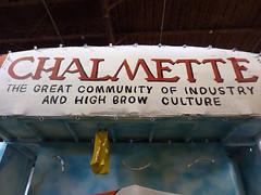 Chalmette float banner