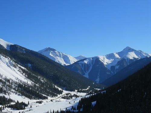 winter snow mountains rural colorado sanjuanmountains milliondollarhighway