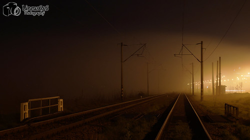 The fog and the railway | by Lineus646