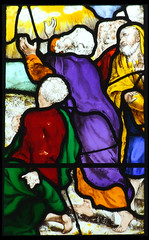 Disciples witness the Ascension of Christ
