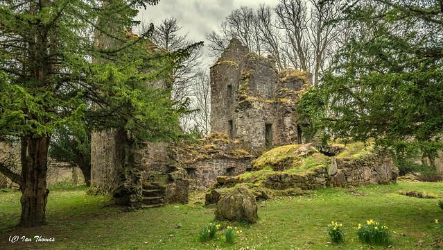 Finlarig Castle In Scotland