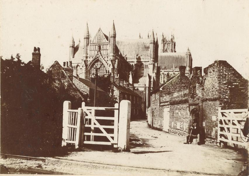 Friary Lane, Beverley, c.1865 (archive ref PH-4-7)
