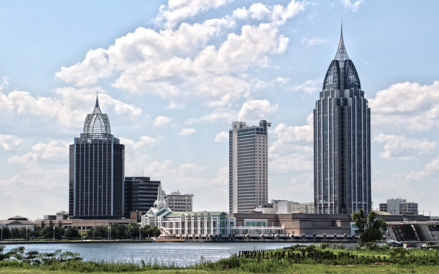 Mobile Skyline - Alabama