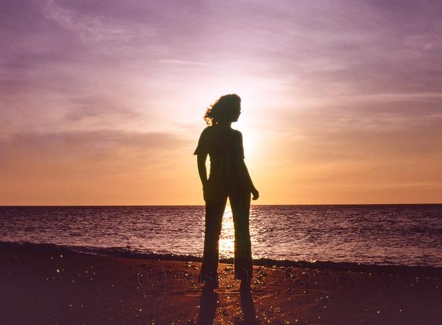 The girl from Ipanema on Carmel Beach Haifa