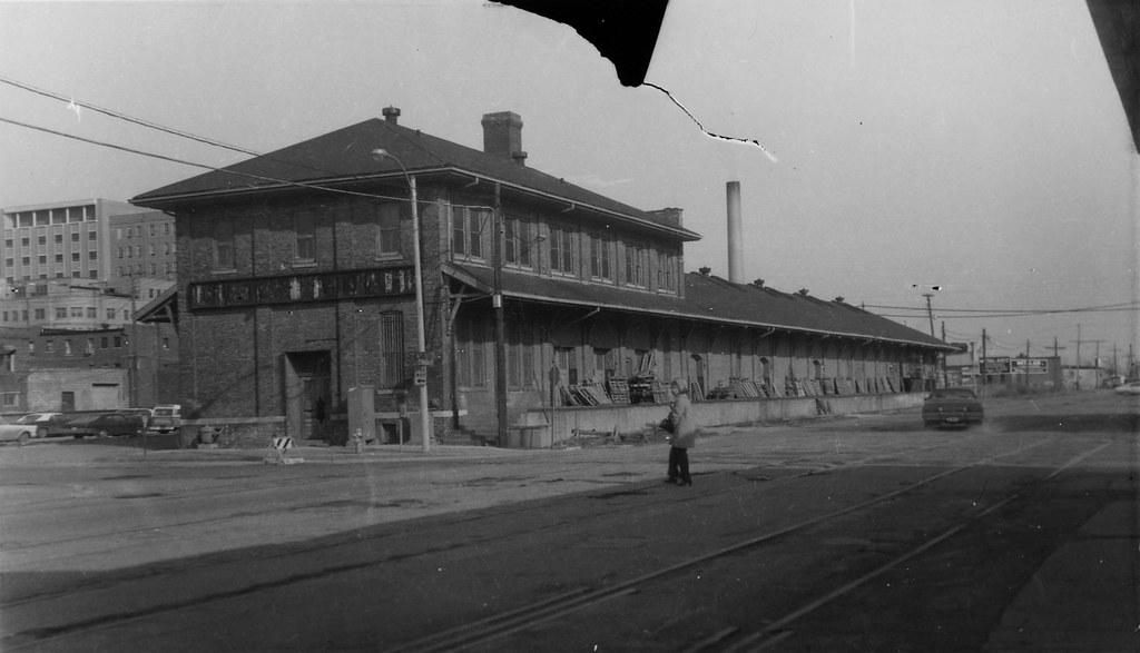 Illinois Central Freight Depot Springfield Illinois