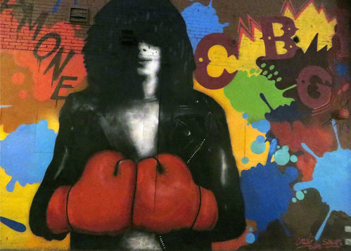 Joey Ramone Mural | by edenpictures