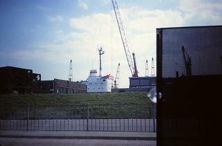 Netherlands   -   Port of Vlissingen (Flushing)   -   May 1989