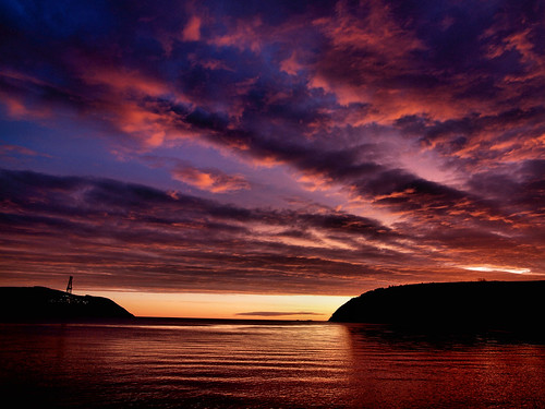 sunrise scotland cromarty sutor firth gloaming