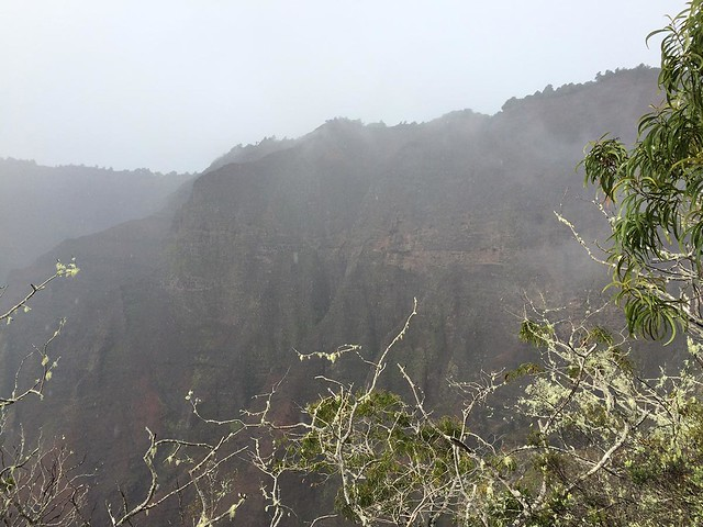 Canyon Trail to Waipo'o Falls