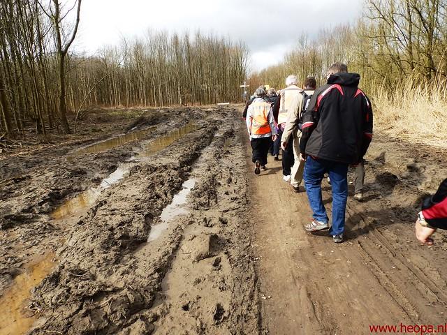 2016-03-23 stads en landtocht  Dordrecht            24.3 Km  (113)