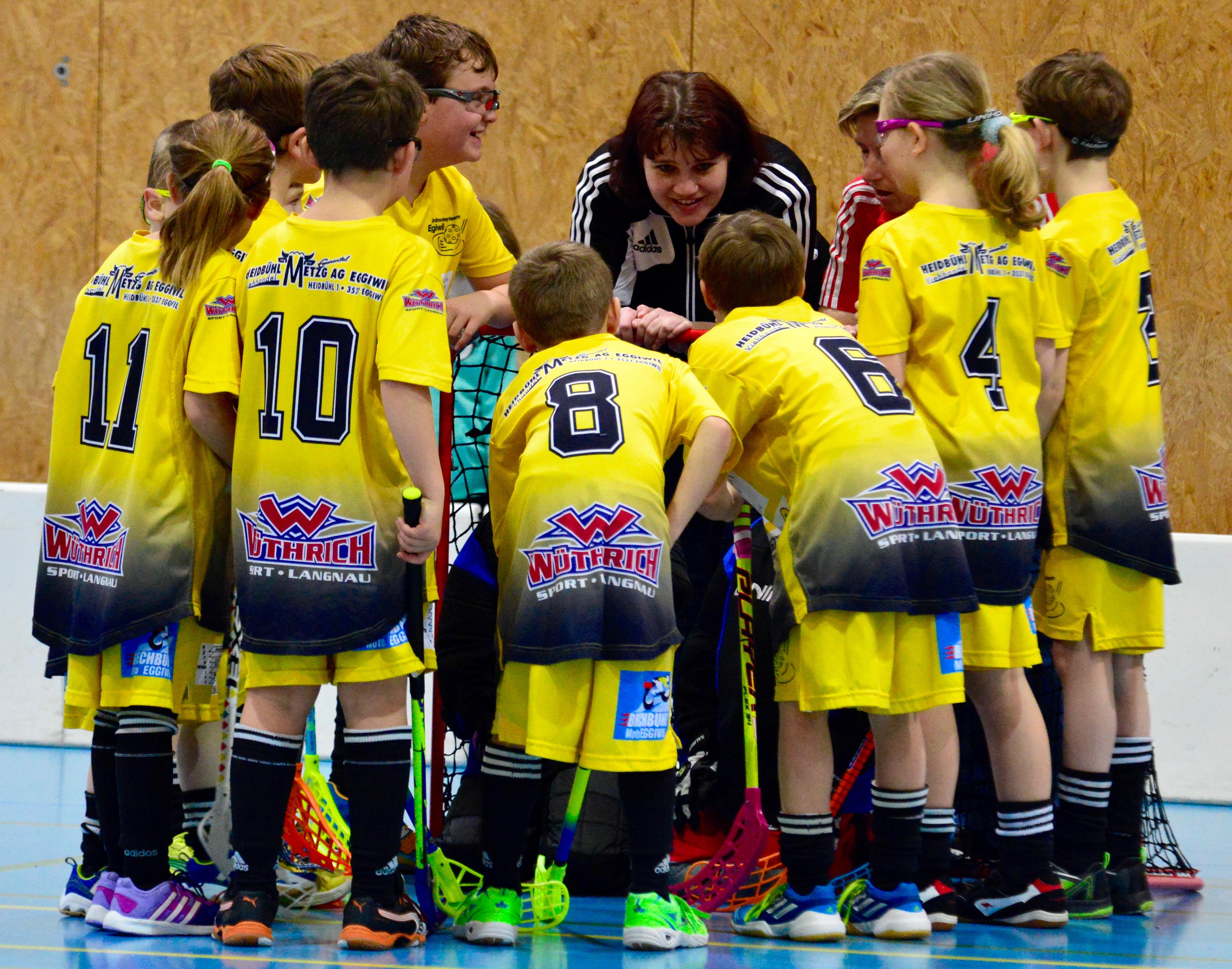 Junioren E I . Visper Lions Saison 2015/16