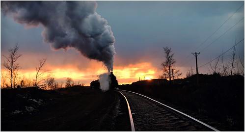 Sunset Golden Hour Steam