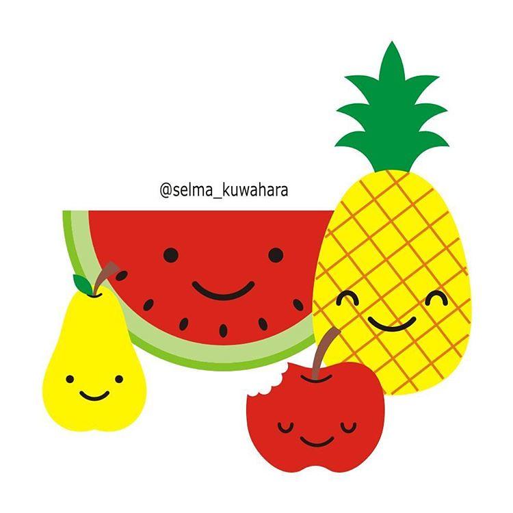Frutas Desenho Draw Drawing Arte Art Selma Kuwahara Flickr