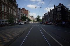 Nieuwezijds Voorburgwal, Amsterdam, July 2015
