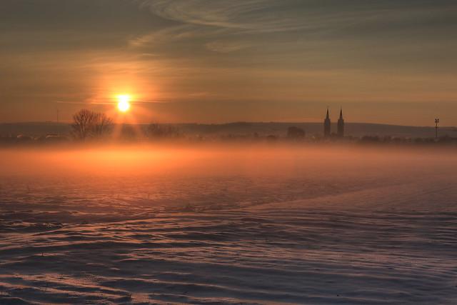Sonnenuntergang Polch i.d. Eifel