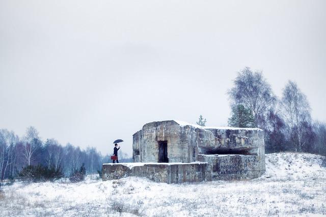 Inspecting The Bunker
