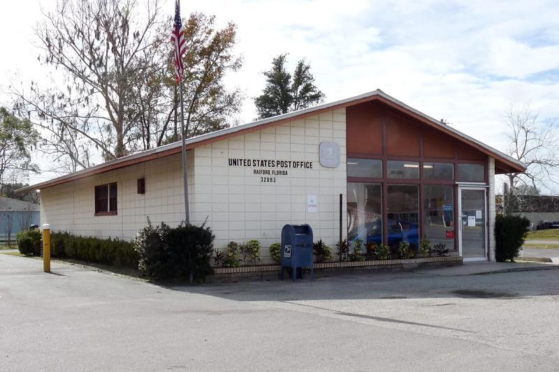 Raiford, FL post office | Union County  Photo by J Gallagher