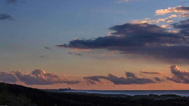 Sunset Dutch Coast / Zonsondergang Nederlandse Kust