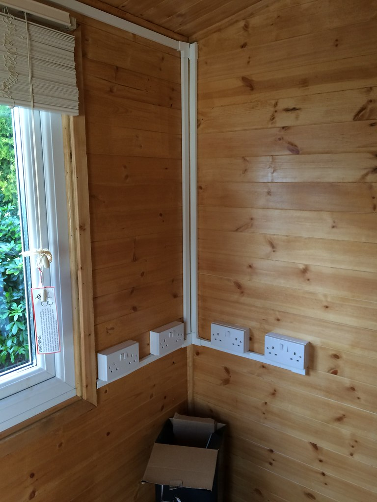 Incredible New Wiring In Summer House Terry Thornton Flickr Wiring Digital Resources Remcakbiperorg