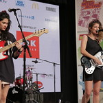 Fri, 18/03/2016 - 5:15pm - Hinds  Live at SXSW Radio Day Stage Powered By VuHaus, 3/18/16 Photographer: Michael Sperling