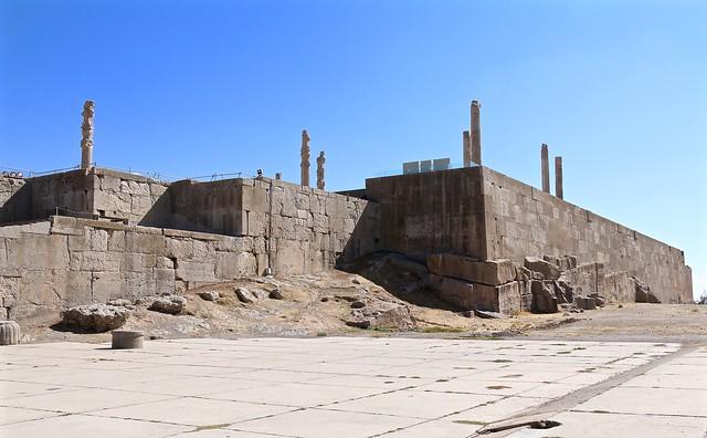 Terrace, Persepolis, Marvdasht, Fars Province, Iran