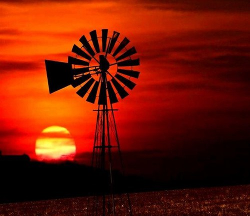life sunset water windmill silhouette outdoors farming dreamcatcherphotos