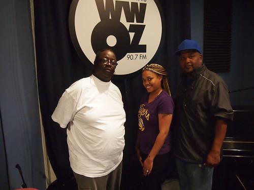 Ed Buckner and Alisha Tolliver of Original Big Seven with WWOZ