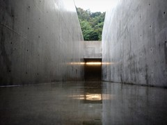 Lee Ufan museum Naoshima - architecture by Tadao Ando