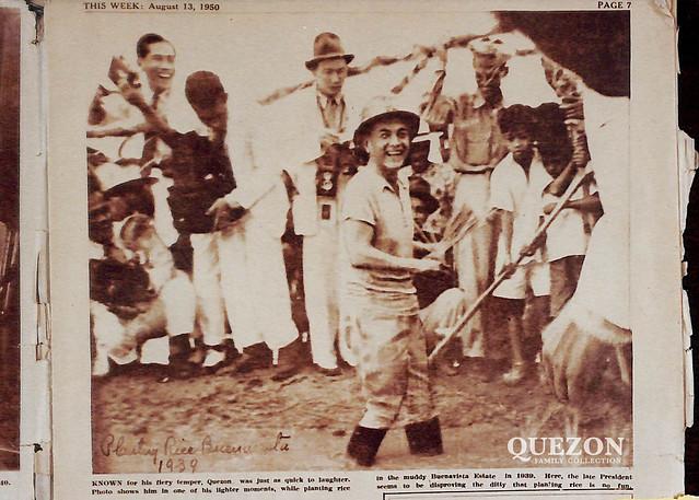Planting Rice, Buenavista, 1939