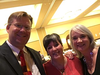 Wesley Fryer, Cyndi Danner-Kuhn, and Shelly Fryer at iPad iCamp 2016 | by Wesley Fryer