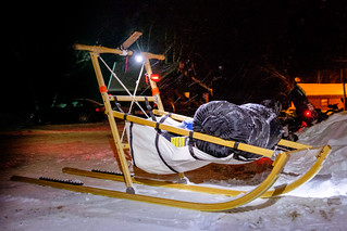 Sled At Night | by bjornery