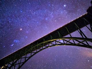 Stars above Red Cliff Bridge | by Bryce Bradford