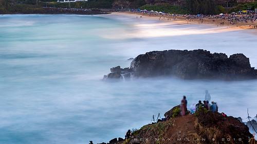 ocean longexposure sea sunlight mist sunrise hawaii surf pacific oahu surfer wave surfing spotlight northshore waimeabay ndfilter 5stops