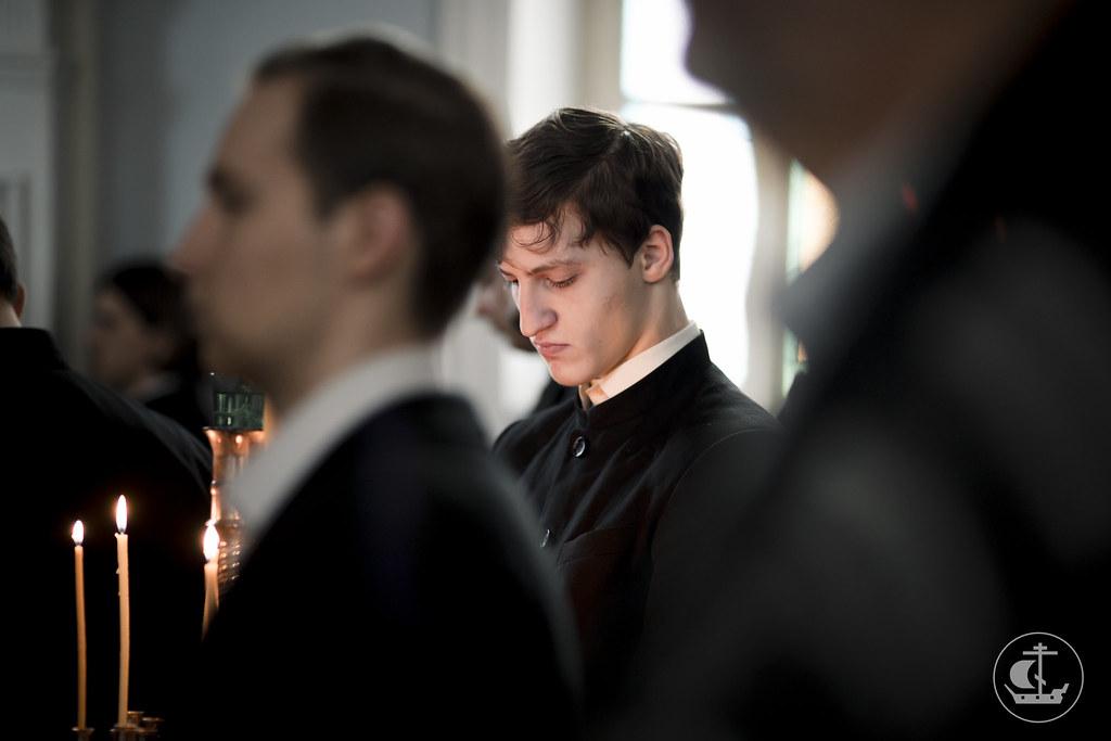 17 марта 2016, Четверг Первой седмицы Великого поста. Утро / 17 March 2016, Thursday of the 1st Week of Great Lent. Morning