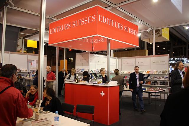Éditeurs suisses - Livre Paris 2016